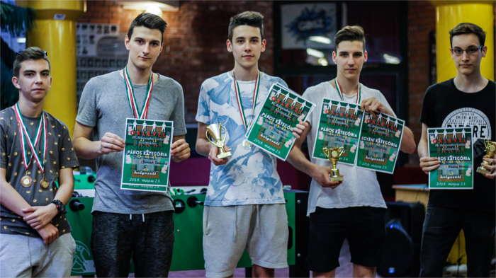 Békéscsabai Városi Középiskolás Csocsóverseny 2018